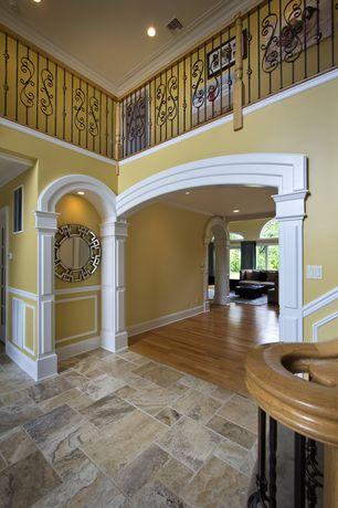 Traditional Entryway with Paint