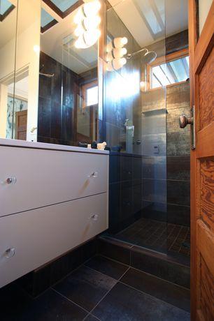 Eclectic 3/4 Bathroom