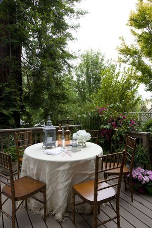 Traditional Deck with Deck Railing