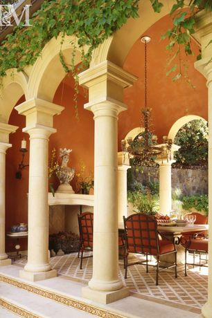 Traditional Patio
