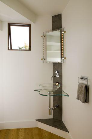 Contemporary Powder Room with LED Illuminated Bathroom Slimline Mirror With Demist Pad H670 x W800, Paint 1, Powder room