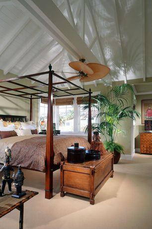 "Traditional Master Bedroom with Fanimation Islander 52"" 5 Blade Ceiling Fan"
