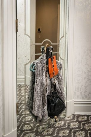 Contemporary Closet with Graham & Brown - Majestic White / Mica
