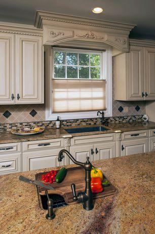 Traditional Kitchen with Stonemark Granite-Granite Countertop in Lapidus