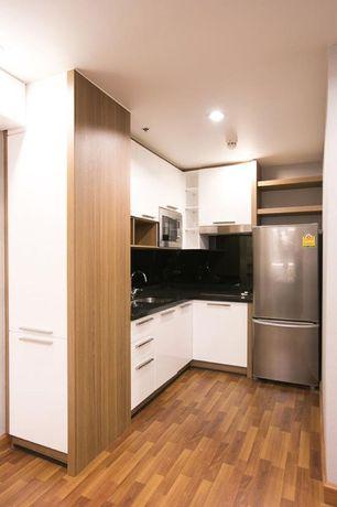 Modern Kitchen with Ultracraft Destiny Seneca Cabinetry, Undermount sink, European Cabinets, Flush, L-shaped