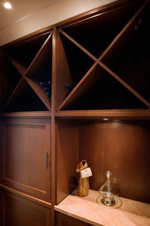 "Contemporary Wine Cellar with Siro Cabinet Hardware European Railing Black European Railing 6.22"" O/A - ( SIR-29435 )"