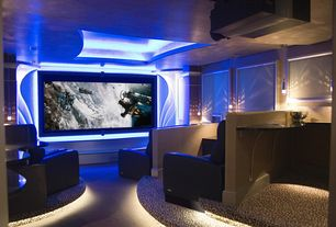 Contemporary Home Theater