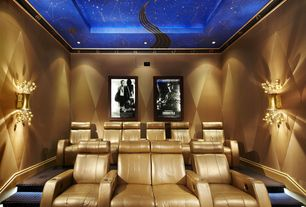 Art Deco Home Theater