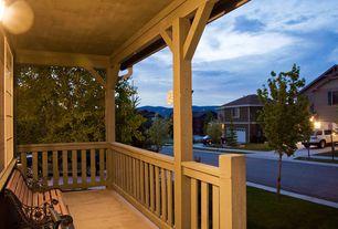 Contemporary Deck with Wrap around porch