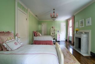 Traditional Kids Bedroom with Paint, Pottery barn morgan duvet + sham w/ monogramming