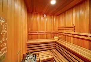 Rustic Master Bathroom with Finnish Sauna Heater Rocks (25lbs / 11.5kg), Lumber, Master bathroom
