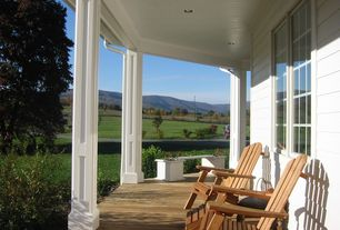 Country Porch with Wrap around porch