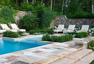 Modern Swimming Pool with Christopher knight home waveland chaise lounge