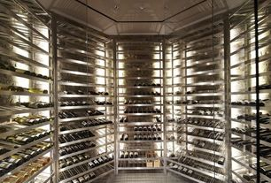 Contemporary Wine Cellar with Wine-Mate 2500HTD - Wine Cellar Cooling System, Winemaker's Choice Wine Gift Basket