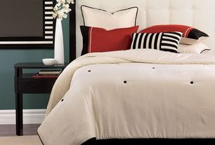 Contemporary Master Bedroom with Dania - pasadena nightstand-venge, Target - dorel tufted headboard