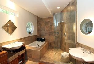 Master bathroom ceramic floor tile zillow digs for 9x12 bathroom designs
