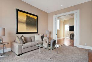 Contemporary Living Room with Eurostyle Beth Coffee Table, Walton sofa, Hardwood floors