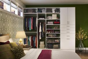 Traditional Closet with Easy track closet 12 in. white hutch drawer - rd2612, Laminate floors, Closet system, Wardrobe