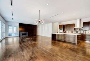 """Modern Living Room with Tungston hardwood - unfinished walnut/select/5"""""""