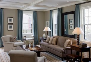 Traditional Living Room with Crown molding, Box ceiling, Carpet, Pottery barn carlisle upholstered sofa