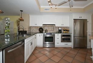 Traditional Kitchen with Paint 1