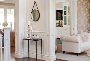 Traditional Hallway with Standard height, Wainscotting