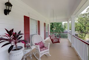 Traditional Porch with Coral coast richmond classic porch swing, Porch swing, Wrap around porch