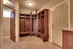 Traditional Mud Room with Martha Stewart Living Mudroom Hutch