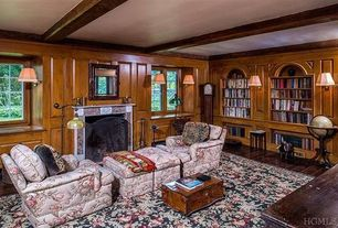 Craftsman Living Room