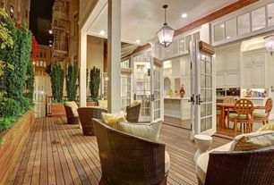 Traditional Porch with Christopher knight home st. john brown loveseat set, Acclaim lighting hanging outdoor light fixture