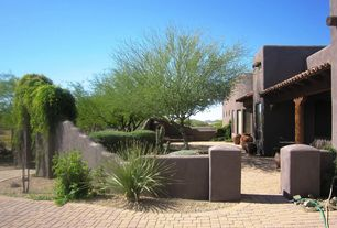 Traditional Landscape/Yard with exterior concrete tile floors, Pathway, exterior tile floors, outdoor pizza oven, Arbor