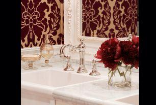 Full Bathroom with Enid widespread bathroom faucet, Pental aspen honed marble