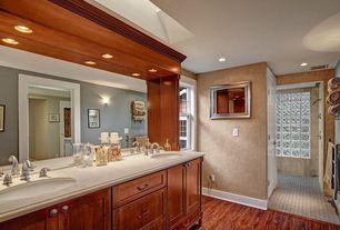 Traditional Master Bathroom with Double sink, Glacier Bay - Builders 8 in. Widespread 2-Handle Bathroom Faucet, Paint 1