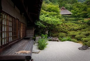 Asian Landscape/Yard with Zen garden