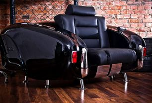 Eclectic Living Room with Luc and Andre 427 Armchair