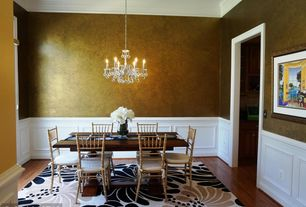 Traditional Dining Room with Paint 2, Paint 1
