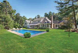 Traditional Swimming Pool with Gate, Casement, French doors, Fence, Lap pool, exterior brick floors, Pathway, exterior awning