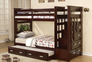 Traditional Kids Bedroom with Hardwood floors, Barclay Butera Lifestyle Ripple Tranquil Rug, Wilson NFL Mini Replica Football