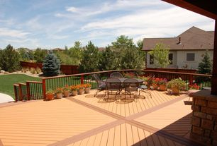 Modern Deck with Diagonal decking pattern, Fence, Pathway, Bamdeck solid composite decking, Solid composite decking