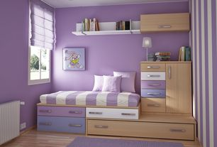 Contemporary Kids Bedroom with Ducduc alex symmetric platform bed, Ducduc alex platform bed, Paint 2, interior wallpaper