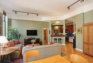 Contemporary Living Room with High ceiling, Cal Lighting HT-2583FC-BK Black 3 Light HT Series Track Lighting Kit, Paint