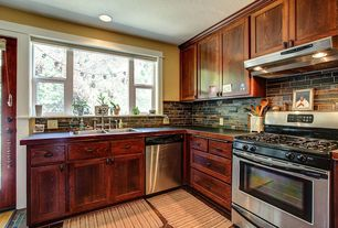 "Craftsman Kitchen with Paint, Kenmore 42"" gas range"