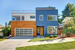Modern Exterior of Home with Paint 2, Paint 1