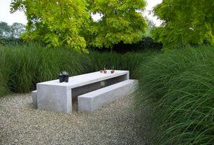 Modern Landscape/Yard with Fence