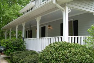 Country Porch with Casement, Arched window, Wrap around porch