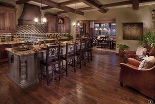Craftsman Kitchen with Surya zebra print indoor/ outdoor accent pillow, tan 20x20, Flush, Complex granite counters, Paint 1