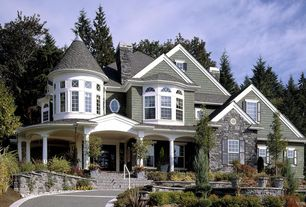 Traditional Exterior of Home with Transitional home exteriors