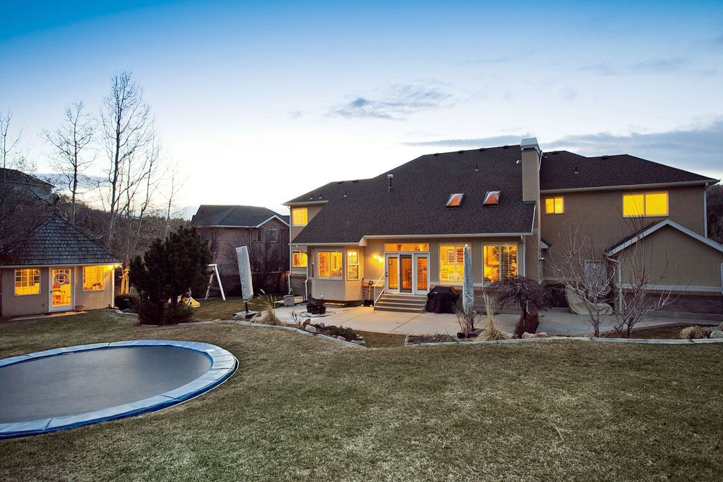 Country Landscape/Yard with exterior tile floors, Other Pool Type, Stained glass window, exterior concrete tile floors