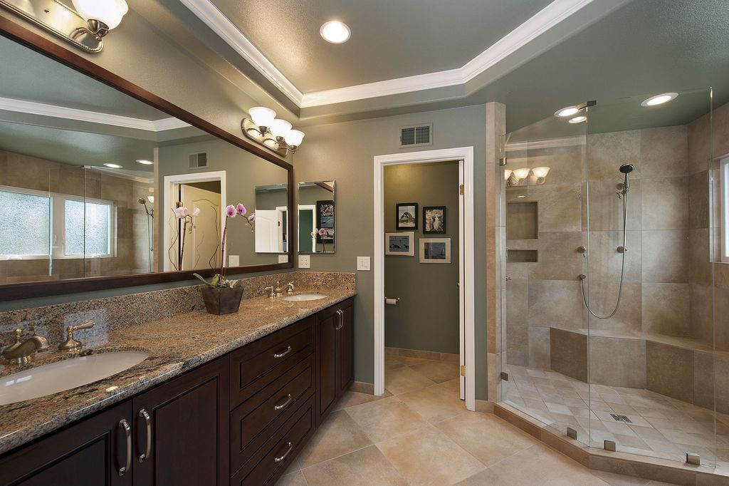 Great contemporary master bathroom zillow digs for Master bath pictures