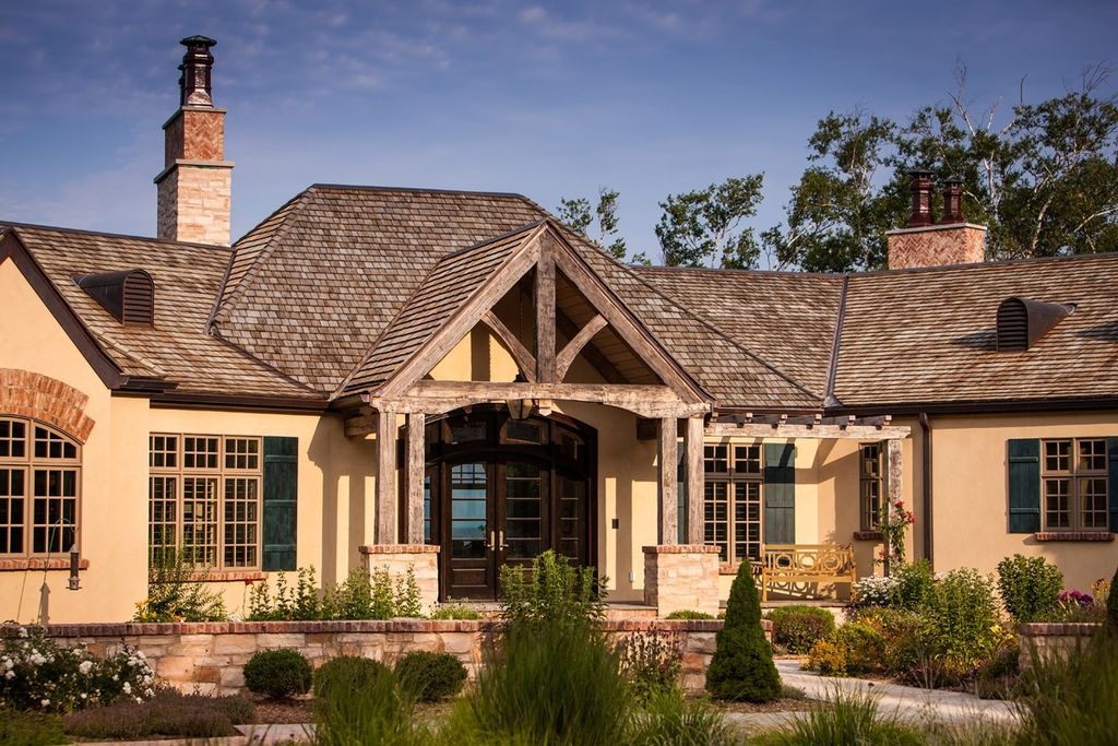 Country exterior of home by mitch wise design inc for Home design zillow